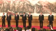 China unveils its new leaders with Vice President Xi Jinping marching on stage at the head of a revamped line up that will steer the worlds number...