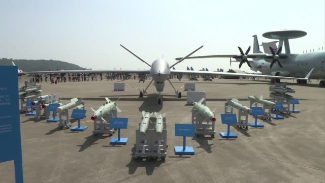 Chinas only international aerospace expo opens in Zhuhai