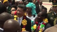 China's President Xi Jinping arrived in Zimbabwe on Tuesday on a rare visit by a world leader to a country shunned by Western powers over President...