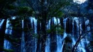 China's Sichuan Jiuzhaigou waterfall