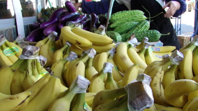 Chinatown Fruit and Vegetable Market Bananas