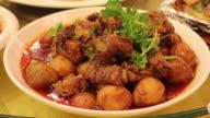CU Chinese food-Potato Spareribs/xian,shaanxi,china