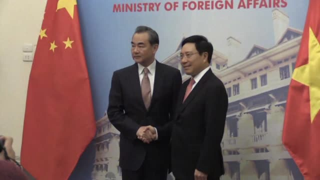 Chinese Foreign Minister Wang Yi kicks off a two day visit to Vietnam by holding talks with Vietnamese counterpart and Deputy Prime Minister Pham...