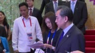 Chinese Foreign Minister Wang Yi urges North Korea to make a smart decision after the United Nations imposed tough new sanctions on the isolated...
