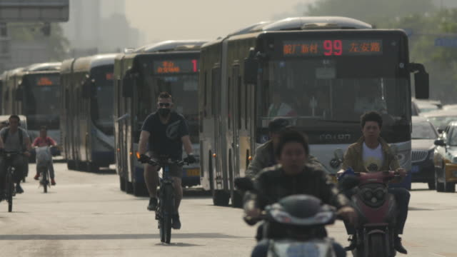Chinese government is trying hard to fight but still a lot of pollution came from the surrounding cities or towns which still producing smoke from...
