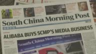 Chinese Internet giant Alibaba will pay HK$206 billion US$2658 million for Hong Kong's South China Morning Post the newspaper says in a statement to...