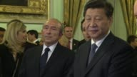 Chinese President Xi Jinping arrived in France Tuesday on a threeday state visit to be marked by the signing of a slew of high powered business deals...