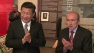 Chinese President Xi Jinping leaves Lyon for Paris where he will hold talks with his French counterpart Francois Hollande after which a raft of trade...