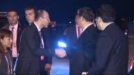 Chinese President Xi Jinping seen before departing Antalya following the on November 16 2015 in Antalya Turkey
