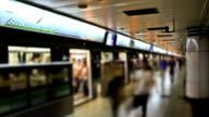 Chinese Subway Station