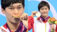 Chinese swimmers Sun Yang and Ye Shiwen seize gold as China issues an emphatic challenge to US Olympic swimming supremacy on a day when American...