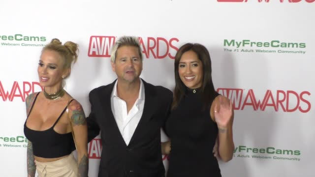 Chloe Amour Sarah Jessie Will Ryder at the 2017 AVN Awards Nomination Party at Avalon Nightclub in Hollywood Celebrity Sightings on November 17 2016...