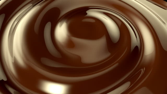 Chocolate whirlpool background