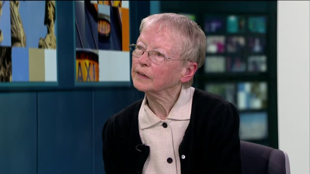 Choir of pensioners release music video praising the Freedom Pass ENGLAND London GIR INT Eileen O'Brien and Anderson Alexis LIVE STUDIO interview SOT