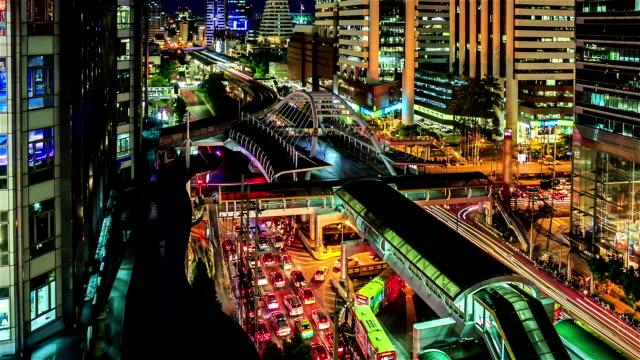 Chong Nonsi skywalk, Bangkok