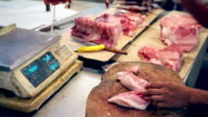 HD chopping meat at local Asian market