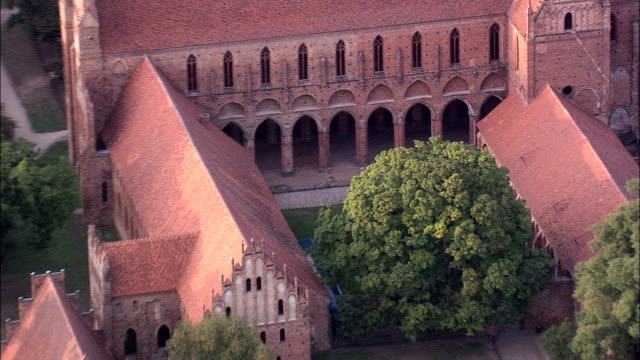 Chorin Abbey  - Aerial View - Brandenburg,  Germany