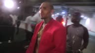Chris Brown departs PreESPYS Party in Argyle in Hollywood at Celebrity Sightings in Los Angeles on July 14 2015 in Los Angeles California
