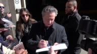 Chris Cooper arrives at AOL and signs for fans in New York City in Celebrity Sightings in New York