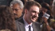 Chris Evans at the 'The Losers' Premiere at Hollywood CA