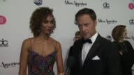 INTERVIEW Chris Harrison and Sage Steele talk about hosting the evening at The 2018 Miss America Competition on September 10 2017 in Atlantic City...