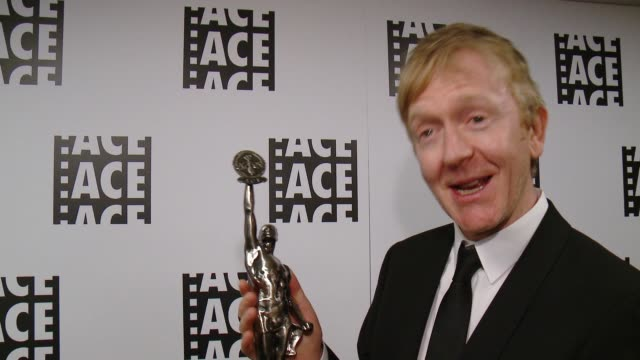 INTERVIEW Chris King at 66th Annual ACE Eddie Awards in Los Angeles CA