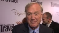 Chris Matthews on why he is at the event at Conde Nast Traveler Celebrates 'The Visionaries' And 25 Years Of Truth In Travel in New York 09/18/12