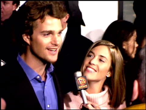 Chris O'Donnell at the Premiere of 'The Bachelor' at the Cinerama Dome at ArcLight Cinemas in Hollywood California on November 3 1999