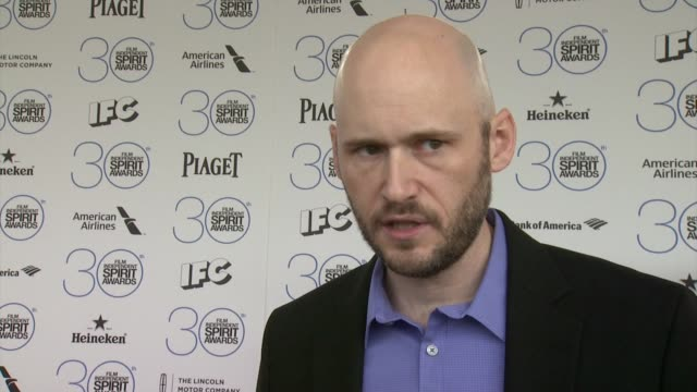 INTERVIEW Chris Ohlson on the event at Piaget At The 2015 Film Independent Spirit Awards in Los Angeles CA