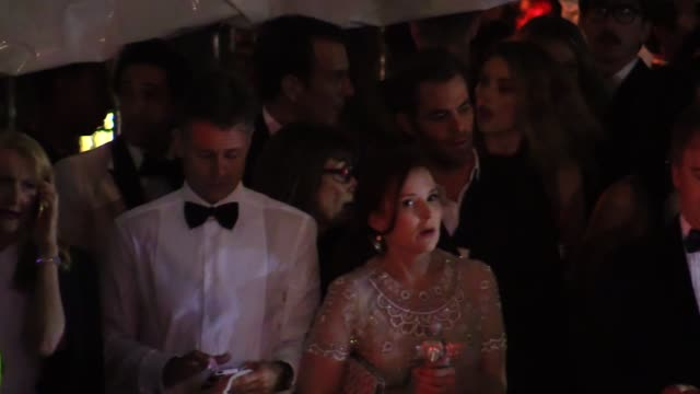 Chris Pine Adrien Brody Will Arnett Arielle Vandenberg at the 2015 Vanity Fair Oscar Party in Los Angeles in Celebrity Sightings in Los Angeles
