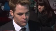 Chris Pine at This Means War UK Premiere at ODEON Kensington on January 30 2012 in London England