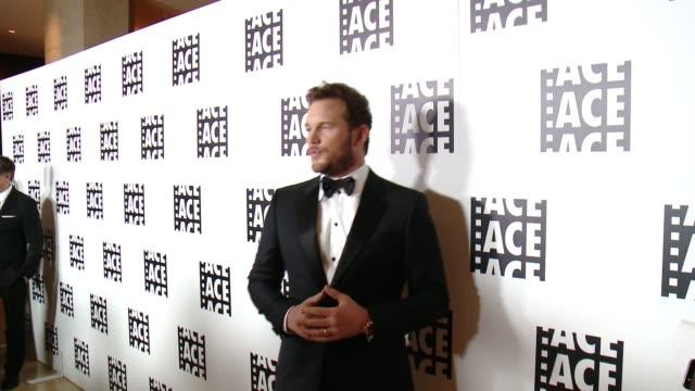 Chris Pratt at 65th Annual ACE Eddie Awards in Los Angeles CA