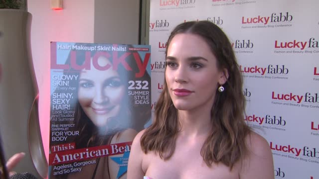 INTERVIEW Christa B Allen on the event at Lucky Magazine Hosts FirstEver Two Day FABB West on 4/4/13 in Los Angeles CA