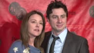 Christa Miller and Zach Braff at the 66th Annual Peabody Awards press room at Waldorf Astoria in New York New York on June 4 2007