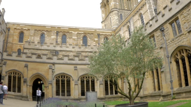 Christchurch College,cloisters,ZO,