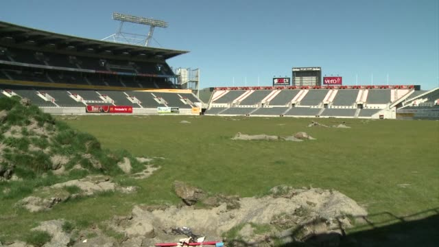 Christchurch may be broken but people in the earthquakedevastated New Zealand city that has become a focus of the Rugby World Cup know how to turn...