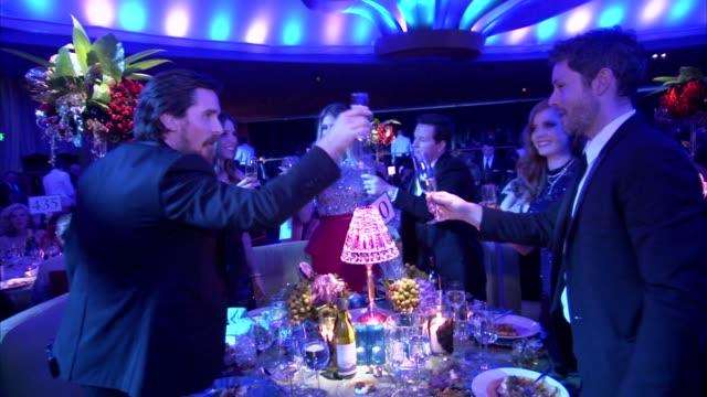 Christian Bale at the 2011 Governors Ball at Hollywood CA
