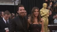Christian Bale Sibi Bale at the 83rd Annual Academy Awards Arrivals Pool Cam at Hollywood CA