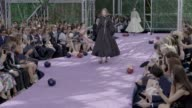 CLEAN Christian Dior Haute Couture Paris Fashion Week at Musee Rodin on July 06 2015 in Paris France