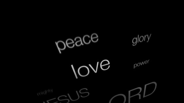Parole di fede cristiana