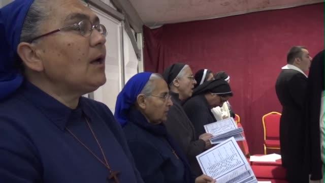 Christians celebrate Easter in Arbil capital of the Iraqi autonomous Kurdistan