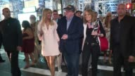 Christie Brinkley Michael Moore and Gloria Steinem at AwardWinning Filmmaker Michael Moore Celebrates His Broadway Opening Night in 'The Terms of My...