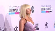 Christina Aguilera at The 40th American Music Awards Arrivals on in Los Angeles CA