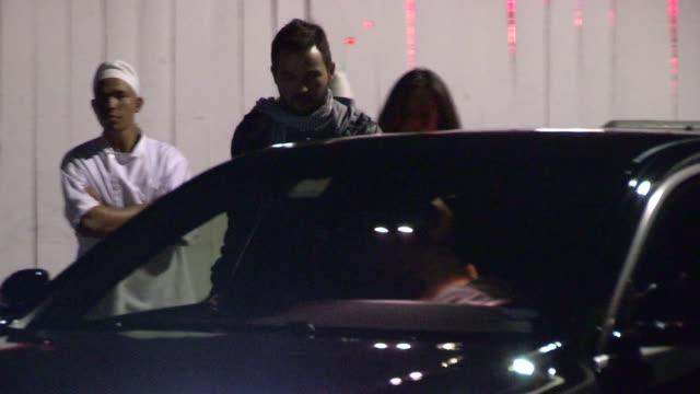 Christina Aguilera Matthew Rutler leave Giorgio Baldi in Santa Monica Celebrity Sightings in Los Angeles CA on