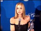 Christina Applegate at the 1999 People's Choice Awards at the Pasadena Civic Auditorium in Pasadena California on January 10 1999