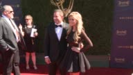 Christina El Moussa and Tarek El Moussa at the 44th Annual Daytime Emmy Awards at Pasadena Civic Auditorium on April 30 2017 in Pasadena California