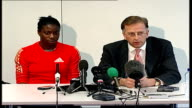 Christine Ohuruogu press conference Christine Ohuruogu press conference SOT I performed as well as I could on the day [at the 2007 World...