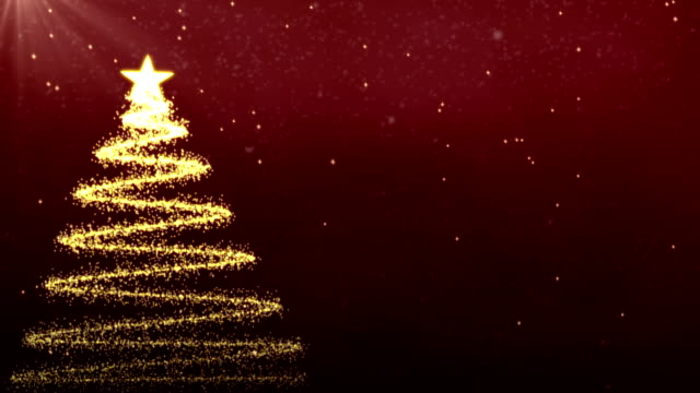 red christmas tree background - photo #24