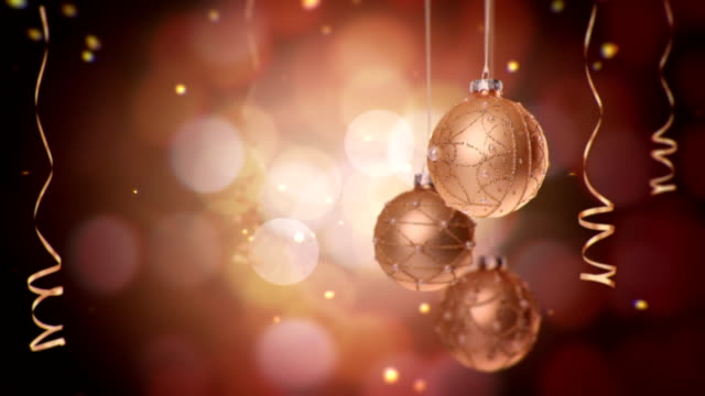 Christmas ball - bronze