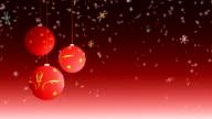 Christmas balls - loop